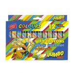 Voskovky Jumbo Max 14x100 Mm 12 barev