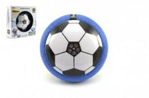 Air Disk fotbalový míč vznášející se plast 14cm na baterie se světlem