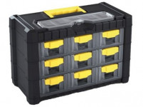 skříňka CARGO 400x200x260mm, 9+1 plastová