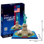 Puzzle 3D Socha Svobody - 39 dílků
