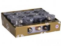 osvětlení vánoční 1,7m pr.4cm 10LED teplá BÍ-ZLA, ANTR, MO - mix variant či barev