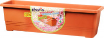 Plastia truhlík samozavlažovací Bergamot - terakota 50 cm