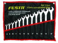 sada klíčů OP 8-22mm 12díl. FESTA