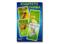 Kvarteto farma 7x10,5x1,5 cm 32 ks