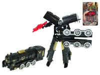 Lokomotiva/robot 17 cm - mix barev