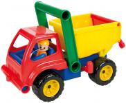Auto sklápěč s figurkou aktivní plast 27cm 24m+