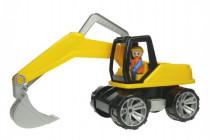 Auto Truxx bagr s figurkou plast 44cm 24m+