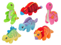 Dinosaur plyšový 17-24 cm - mix variant či barev