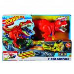 Hot Wheeels city T-Rex řádí