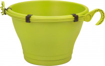 Elho květináč Corsica Hanging Basket - lime green 30 cm