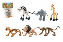 Zvířátka safari ZOO plast 9-10cm