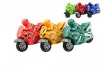 Motorka plast 10cm na setrvačník - mix barev
