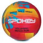 Spokey BEACH FUN Volejbalový míč červeno-žlutý č. 5