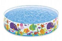 Bazén dětský mořský svět 183x38cm
