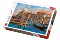 Puzzle Benátky - Kanál Grande 1000 dílků