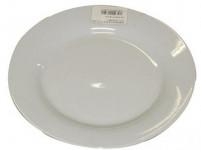 talíř dezertní 19,5cm BÍ porcelánový