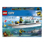 Lego City 60221 Potápěčská jachta