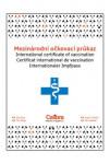 Očkovací průkaz pes Calibra mezinárodní 1ks