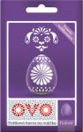 Barva na vajíčka OVO prášková fialová - VÝPRODEJ