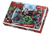 Puzzle The Avengers 100 dílků 41x27,5cm