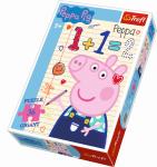 Puzzle Gigant 36 dílků Prasátko Peppa