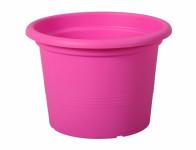 Květník CAMPANULA plastový fialovo růžový 28x20cm