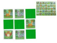 Pexeso Les 64 karet ilustrovaná zvířátka