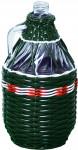demižon opletený 3l - mix barev
