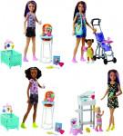 Mattel Barbie Chůva herní set - mix variant či barev - VÝPRODEJ