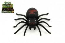Pavouk na klíček plast 9cm - mix barev