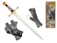 Rytířská sada meč 63 cm s pouzdrem a opaskem