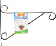 Držák na závěsný květináč - kovový Rhein 25cm