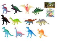 Dinosaurus 4-8 cm 12 ks - mix variant či barev