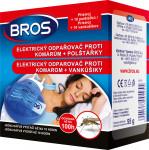 Bros - el. odpařovač proti komárům + 10 polštářků - VÝPRODEJ