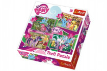 Puzzle 4v1 My Little Pony