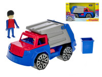 Auto nákladní popeláři s panáčkem
