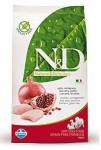 N&D Grain Free DOG Adult Mini Chicken&Pomegranate 7kg