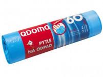 pytle na odpadky zatahovací 60l (10ks) 60x 70cm 13µ