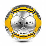 Spokey IMPACT fotbalový míč stříbrno-žlutý vel. 5