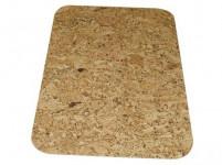 prostírání obdélník oblé rohy 36x25cm korek (6ks)
