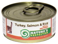 Nature's Protection Cat konz.Neutered krůta/losos 100 g