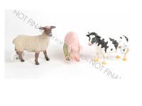 Zvířátka farma 16-19 cm - mix variant či barev