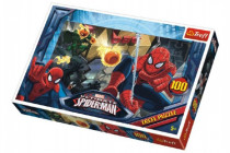 Puzzle Spiderman Únik 100 dílků 41x27,5cm