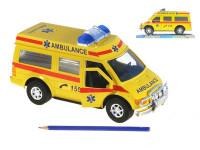 Auto ambulance 27 cm na setrvačník