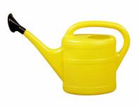 Konev s růžicí plastová žlutá 5l