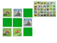 Pexeso Les 64 karet reálná zvířátka