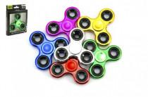 Fidget spinner chrom - mix variant či barev