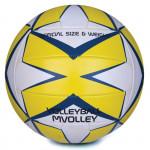 Spokey MVOLLEY Volejbalový míč žlutý rozm. 5