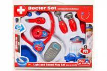 Sada doktor/lékař 9ks plast