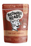 MEOWING HEADS Top Cat Turkey 100g